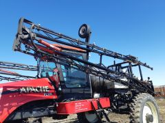 Sprayer booms off Apache 790 Plus sprayer. 90' total, 6/10 cond, both wings have welded spots & bends. Good for projects. Price is per wing.