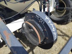 Single fan for a Bourgault 5350 air cart. Sold with one year warranty.