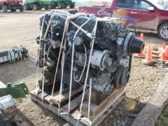 Iveco FPT-F3CE0684E-EXXX 12.L engine for sale. 12.9L, 6cyl, 536HP, 1400hrs, turbo. Out of a New Holland CR9090 combine.