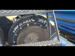 Dual fan for New Holland P1060 air cart. Sold with one year warranty.