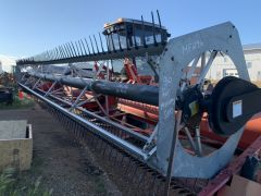 UII (Universal) pickup reel for Massey Ferguson 200 swather. LHS drive, 30' exactly endshield-to-endshield, one weld, teeth 60%.