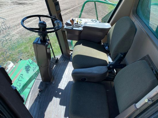 Complete cab  off a John Deere CTS combine. Overall 7.25/10 condition. Sold with one year warranty.